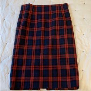 Zara Plaid Pencil Skirt - Barely Worn